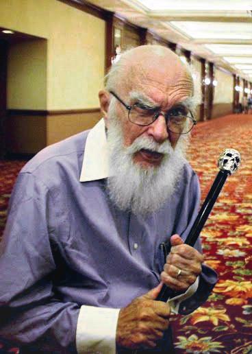 James Randi et l'art de plier les objets par la pensée